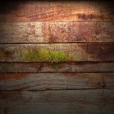 Παλαιός ξύλινος τοίχος Στοκ Φωτογραφίες