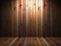 Παλαιός ξύλινος τοίχος Στοκ Εικόνα