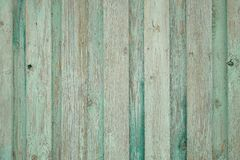 Παλαιός ξύλινος φράκτης υποβάθρου Πράσινη ανασκόπηση στοκ φωτογραφία με δικαίωμα ελεύθερης χρήσης
