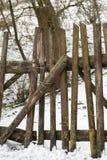 παλαιός ξύλινος φραγών Στοκ φωτογραφίες με δικαίωμα ελεύθερης χρήσης