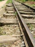 Παλαιός οξυδωμένος σιδηρόδρομος Στοκ εικόνες με δικαίωμα ελεύθερης χρήσης