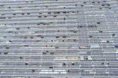παλαιός ουρανοξύστης προσόψεων Στοκ Εικόνες