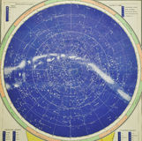 παλαιός ουρανός χαρτών Στοκ φωτογραφία με δικαίωμα ελεύθερης χρήσης