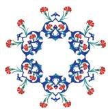 παλαιός παραδοσιακός Τούρκος κεραμιδιών illustrat οθωμανικός Στοκ Εικόνα