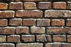 παλαιός πολύ τοίχος τούβλου Στοκ εικόνες με δικαίωμα ελεύθερης χρήσης