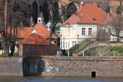παλαιός ποταμός μύλων Στοκ Εικόνα
