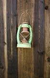 παλαιός πράσινος φανός Στοκ Εικόνες
