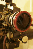παλαιός προβολέας ταινιώ& Στοκ Φωτογραφίες