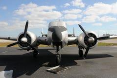 παλαιός προωστήρας αεροπλάνων στοκ φωτογραφίες