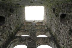 Παλαιός πύργος, καταστροφή, πόλης πύργος Porta Vittoria σε Como στη λίμνη Como Ιταλία Στοκ Φωτογραφία