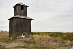 παλαιός πύργος κουδουνιών Στοκ Εικόνες