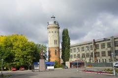 Παλαιός πύργος νερού στην αρχαία πόλη Petrovsk στοκ φωτογραφία με δικαίωμα ελεύθερης χρήσης