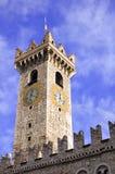 παλαιός πύργος ρολογιών Στοκ Φωτογραφία