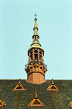 παλαιός πύργος στεγών στοκ εικόνες