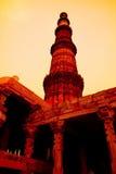 παλαιός πύργος της Ινδίας Στοκ Εικόνα