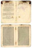 παλαιός ρωσικός τρύγος pasport στοκ εικόνα