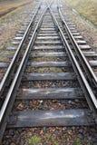 παλαιός σιδηρόδρομος Στοκ Εικόνα