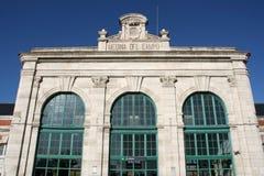 παλαιός σιδηροδρομικός & Στοκ Εικόνα