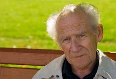 παλαιός σκεπτικός ατόμων Στοκ εικόνες με δικαίωμα ελεύθερης χρήσης