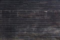 Παλαιός σκοτεινός τουβλότοιχος στοκ εικόνα