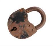 παλαιός σκουριασμένος κλειδωμάτων Στοκ εικόνα με δικαίωμα ελεύθερης χρήσης