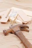 παλαιός σκουριασμένος &sig Στοκ εικόνες με δικαίωμα ελεύθερης χρήσης