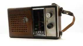 Παλαιός σοβιετικός εκλεκτής ποιότητας ραδιο δέκτης 4k απόθεμα βίντεο