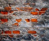 Παλαιός σπασμένος τοίχος Στοκ φωτογραφίες με δικαίωμα ελεύθερης χρήσης