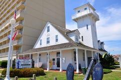 Παλαιός σταθμός ακτοφυλακής, παραλία της Βιρτζίνια, Βιρτζίνια, ΗΠΑ Στοκ Εικόνες