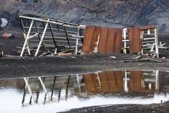 Παλαιός σταθμός φαλαινών στο νησί εξαπάτησης, Ανταρκτική Στοκ εικόνες με δικαίωμα ελεύθερης χρήσης
