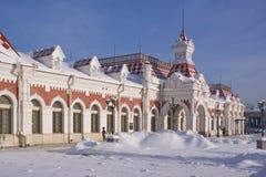 παλαιός σταθμός Στοκ Εικόνες