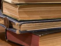 παλαιός σωρός βιβλίων Στοκ Φωτογραφίες