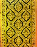 παλαιός ταϊλανδικός τοίχ&omicr στοκ εικόνες