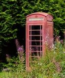 Παλαιός τηλεφωνικός θάλαμος στη Σκωτία στοκ φωτογραφία με δικαίωμα ελεύθερης χρήσης