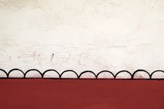 παλαιός τοίχος ανασκόπησ& Στοκ Φωτογραφία