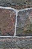 παλαιός τοίχος γρανίτη Στοκ Εικόνες