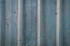 παλαιός τοίχος μετάλλων στοκ εικόνες