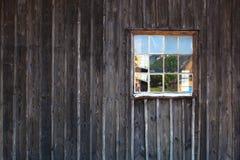 παλαιός τοίχος ξύλινος Στοκ φωτογραφία με δικαίωμα ελεύθερης χρήσης