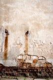 Παλαιός τοίχος οδών Στοκ Φωτογραφία