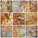 παλαιός τοίχος συλλογής Στοκ φωτογραφίες με δικαίωμα ελεύθερης χρήσης