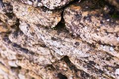 παλαιός τοίχος σύστασης πετρών ανασκόπησης Στοκ φωτογραφία με δικαίωμα ελεύθερης χρήσης