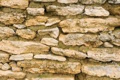 παλαιός τοίχος σύστασης πετρών ανασκόπησης Στοκ εικόνες με δικαίωμα ελεύθερης χρήσης