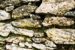 παλαιός τοίχος σύστασης πετρών ανασκόπησης Στοκ φωτογραφίες με δικαίωμα ελεύθερης χρήσης