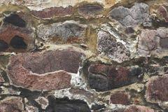 παλαιός τοίχος σύστασης πετρών στοκ εικόνα με δικαίωμα ελεύθερης χρήσης