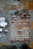 παλαιός τοίχος τεμαχίων τ&o Στοκ εικόνες με δικαίωμα ελεύθερης χρήσης