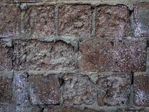 παλαιός τοίχος τεμαχίων τ&o Στοκ εικόνα με δικαίωμα ελεύθερης χρήσης