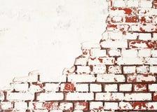 παλαιός τοίχος τούβλου ανασκόπησης Στοκ Εικόνα