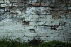 Παλαιός τοίχος τούβλου και πετρών στοκ φωτογραφία