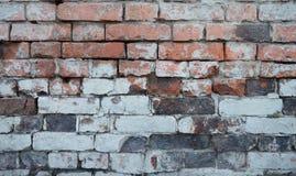 παλαιός τοίχος τούβλου Το τούβλο αναλύει πλινθοδομής Στοκ φωτογραφία με δικαίωμα ελεύθερης χρήσης