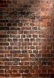 παλαιός τοίχος τούβλου &a Στοκ Εικόνες